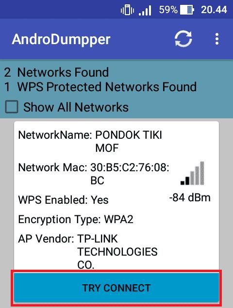 Cara Koneksi Wifi Android