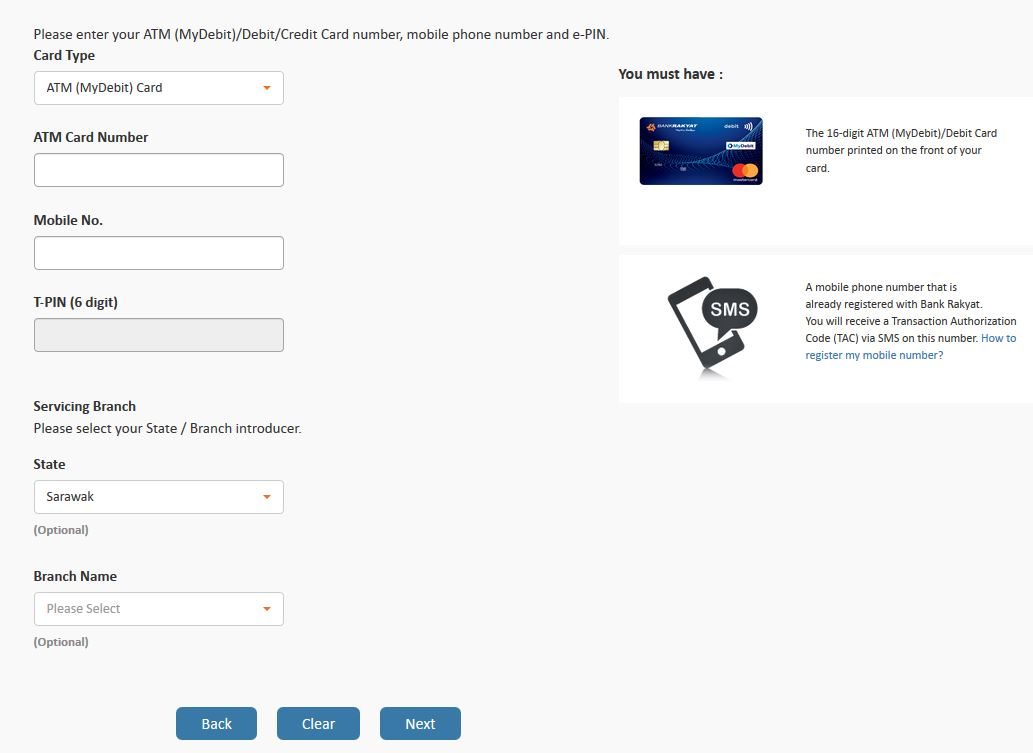 Cara Semak Baki Akaun Bank Rakyat Online Cepat Dan Tidak Rumit