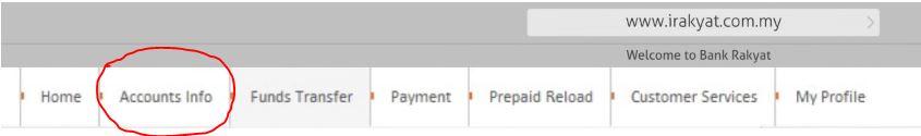 Check Baki Bank Rakyat Online