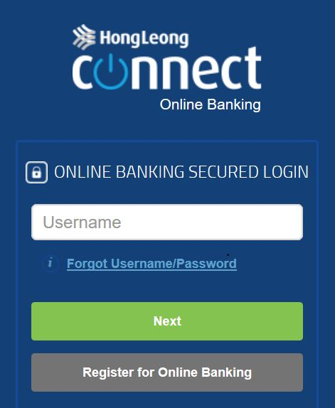Hong Leong Bank Online Login