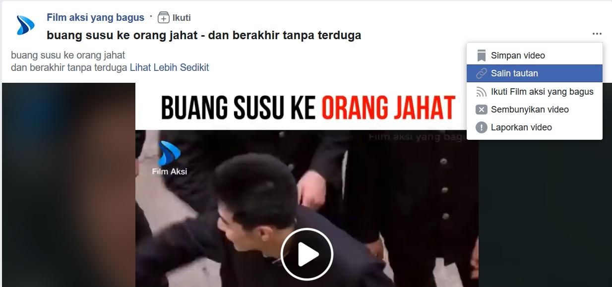 Tutorial Download Video di FB