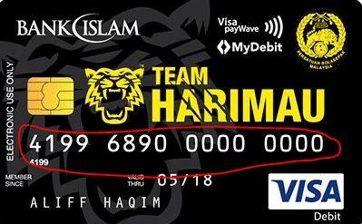 16 Digit Bank Islam