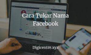 Cara Tukar Nama Facebook