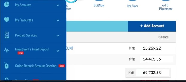 RHB Bank Check Balance Online