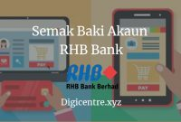 Semak Baki Akaun RHB Bank