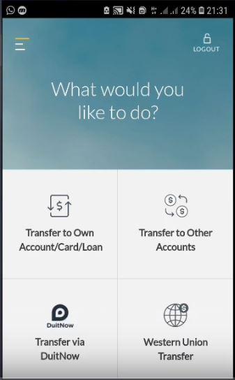 Transfer Duit Maybank