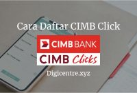 Cara Daftar CIMB Click