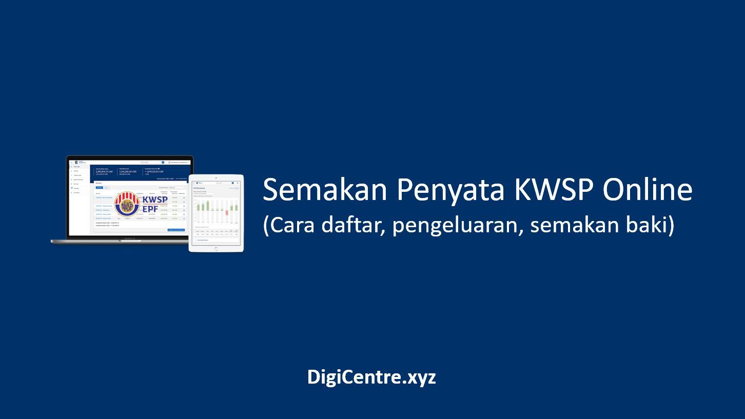 Semakan Penyata KWSP Online