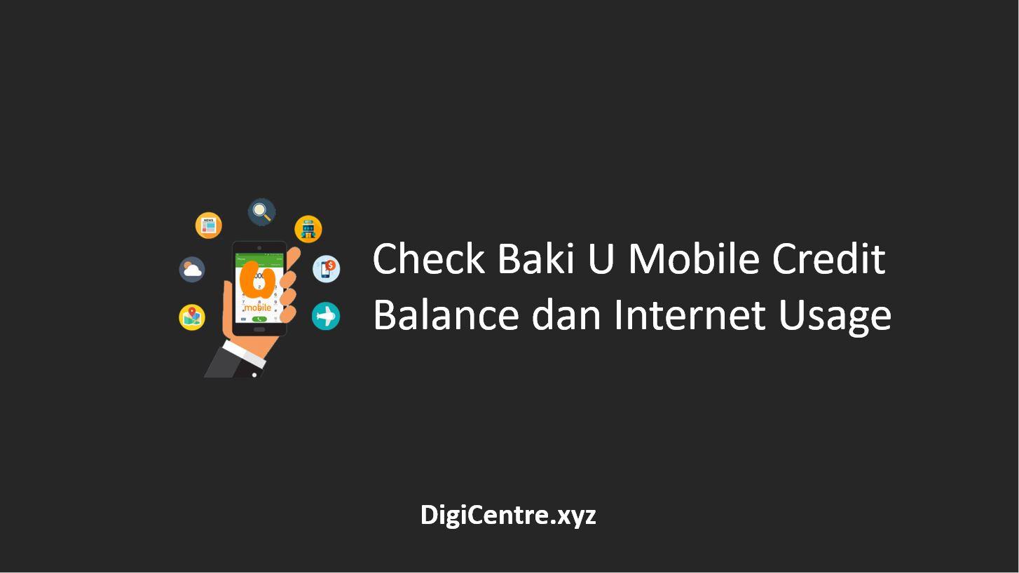 Check Baki U Mobile